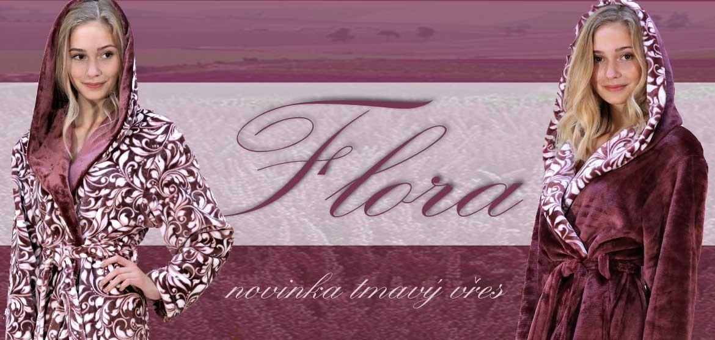 novinka Flora tmavy vres
